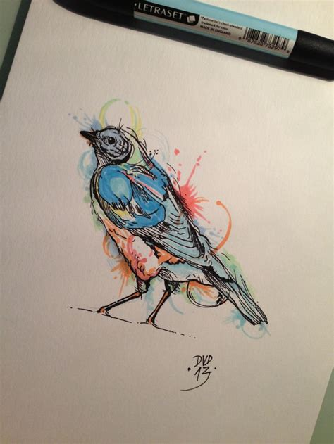 watercolor tattoo sketch 36 best images about tattoos birds on