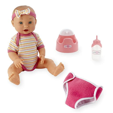 new you me drink and 14 inch baby doll model