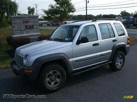 For 2002 Jeep Liberty 2002 Jeep Liberty Sport 4x4 In Bright Silver Metallic