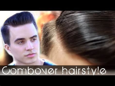 how to style your comb over comb over men s hair classic hairstyle tutorial