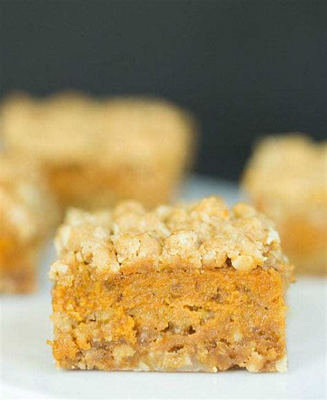 pumpkin bars with crumb topping 60 favorite fall dessert recipes brown eyed baker