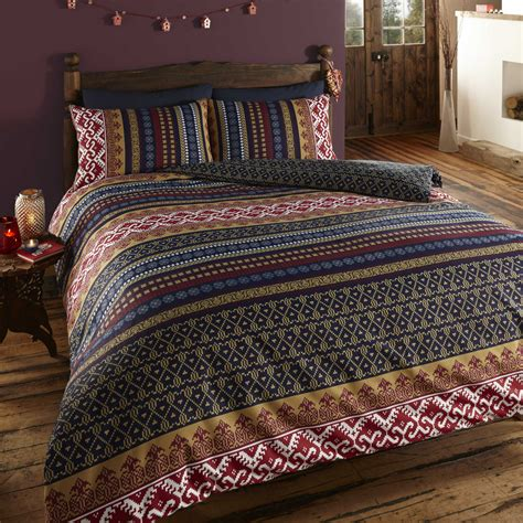 Bedding Duvet Sets At The Range Orkney Printed Duvet Cover And Pillowcase Set