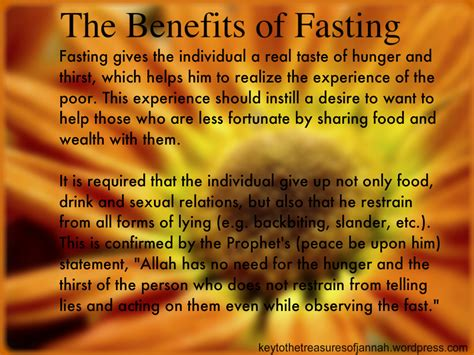 benefits of fasting the benefits of fasting islam key to the treasures of