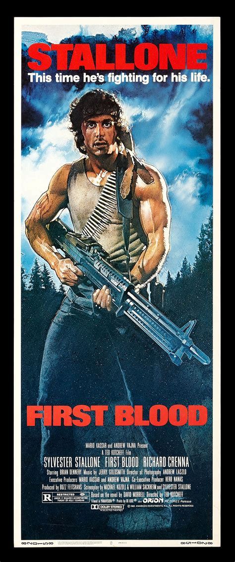 rambo film poster first blood cinemasterpieces rambo original movie poster