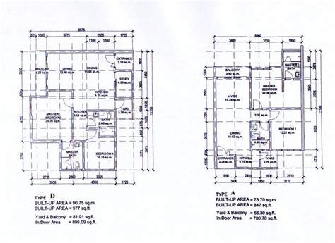 1 desa residence floor plan condo d a