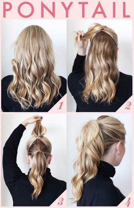 Fast Hairstyles For Hair by Easy Fast Hairstyles For Thick Hair