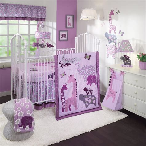 Lambs And Safari Crib Bedding by Lambs And Lavender Jungle Baby Bedding Collection