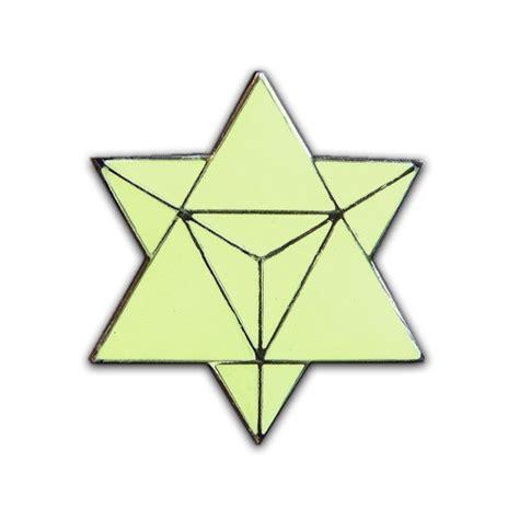 glow tattoo star tetrahedron pin glob in the dark the wears pinterest