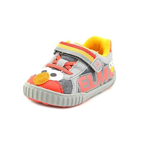 elmo shoes sesame by stride rite srt elmo leather sneakers