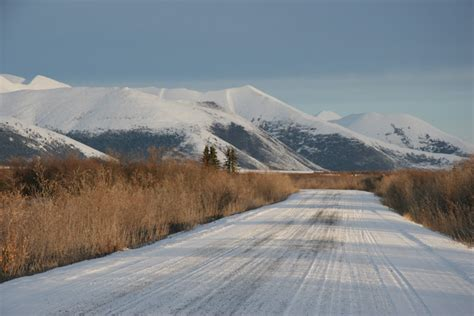 Driving the Dempster in Winter   A Long Drive