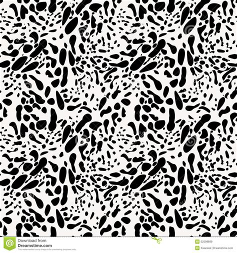 black and white animal pattern black and white animal skin imitation seamless pattern