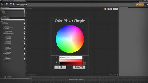 color wheel picker simple color picker by christopher sydell in blueprints