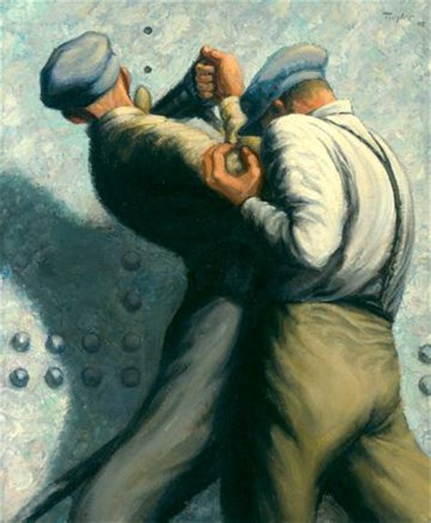 b taylor warmuseum ca art and war hull rivetting 1945