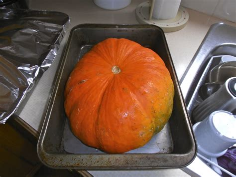 cooking with fresh pumpkin that bloomin garden