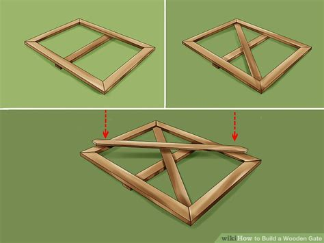 How to Build a Wooden Gate: 13 Steps (with Pictures)   wikiHow