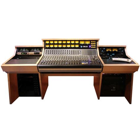 Sound Construction Api 1608 1 2 Straight Desk Maple Sound Studio Desk