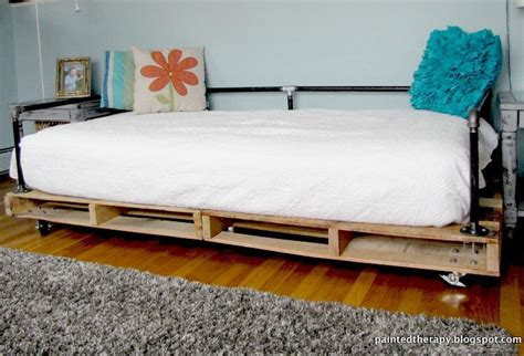 painted therapy building a pallet daybed turn a kid s room into a teen s room for under 100