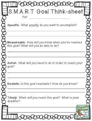 Goal Setting For College Students Worksheet by 25 Best Ideas About Goal Setting Worksheet On