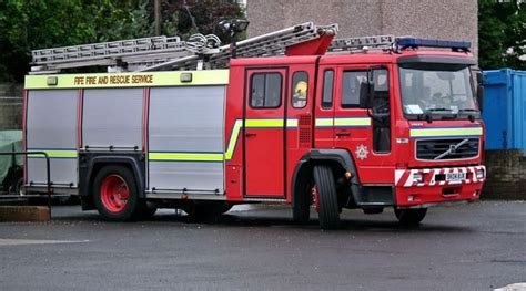 fire engines  volvo  anstruther fife fire rescue