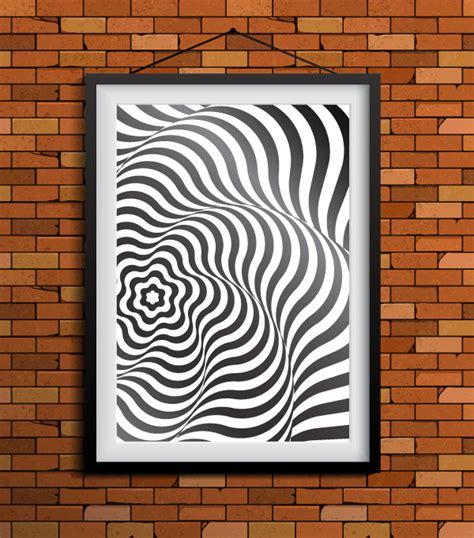 Illustrator Tutorial Op Art | how to create artwork in op art style using adobe