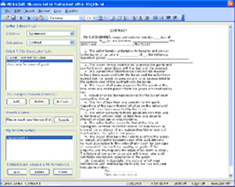 business letter writing software business letter pro