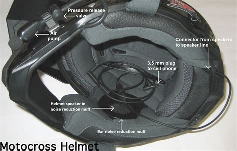 motocross helmet with speakers ride helmets noise reduction helmets