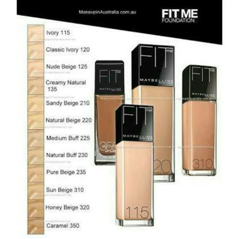 Maybelline Fit Me Di Watson jual maybelline fit me foundation dewy smooth