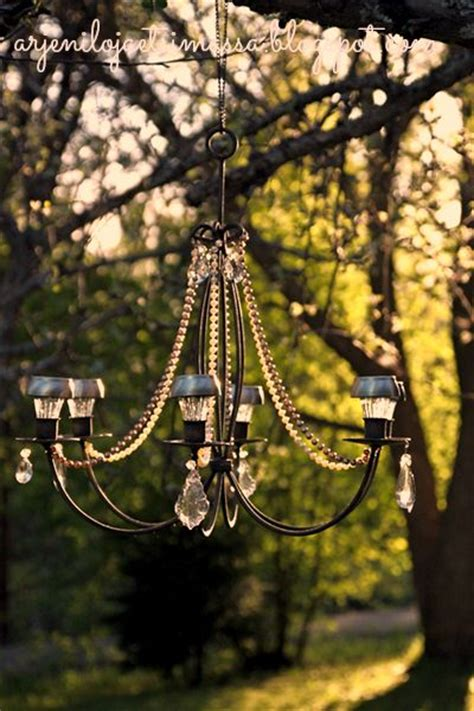outdoor chandelier outdoor and deck