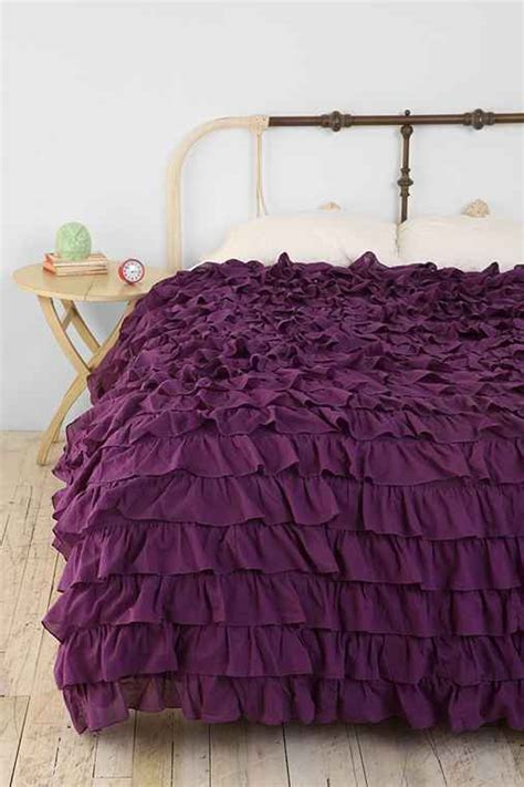 waterfall comforter waterfall ruffle duvet cover from urban outfitters epic