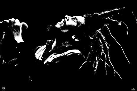 black white bob marley black white poster sold at europosters