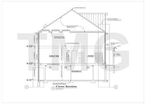 section drawing of a house house plans drafting the magnum group tmg india