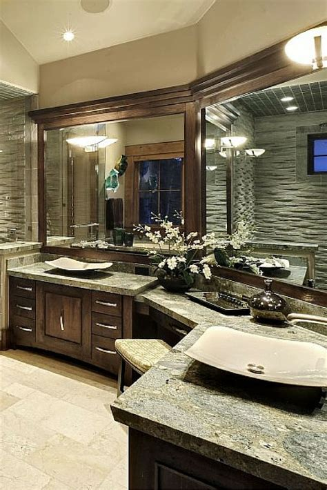 Bathroom Sink Designs by 30 Bathrooms With L Shaped Vanities Bathroom Ideas