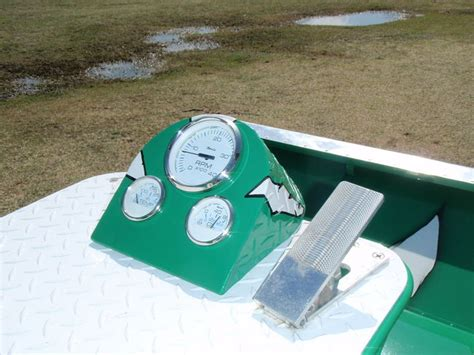 airboat gauge panel front instrument panels southern airboat