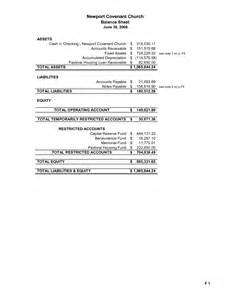Church Balance Sheet Template by 15 Best Images Of Personal Financial Statement Worksheet