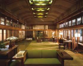 frank lloyd wright home and studio interior