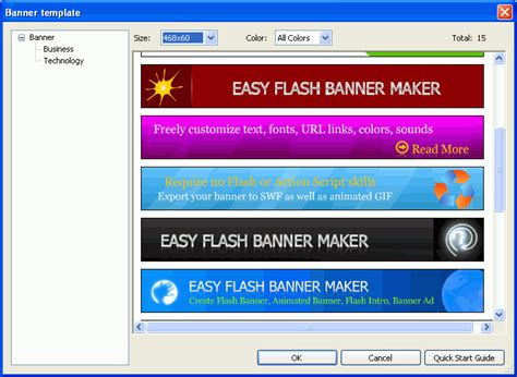 Flash Banner Maker Quick Start Guide Bannker Design Banner Creator Banner Template Maker