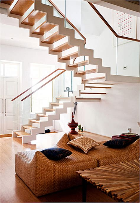 home design creating unique stairs