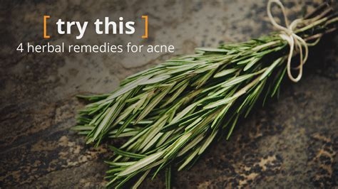 Herbal Ahcn herbs for acne the facts
