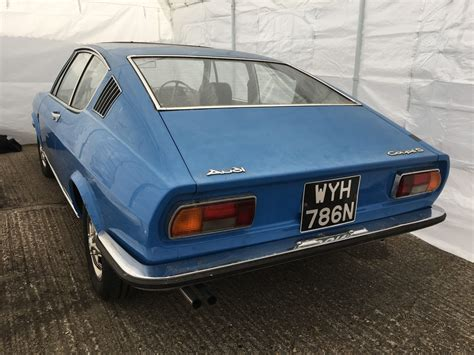 Audi S100 Coupe by 1974 Audi 100 Coupe S In For Full Restoration Bridge