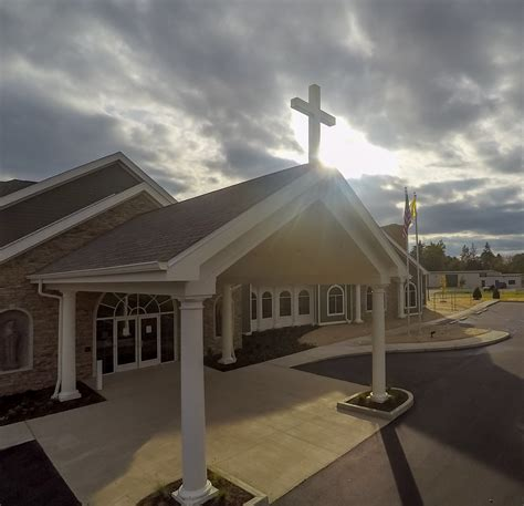 mercy funeral home celebrates grand opening today