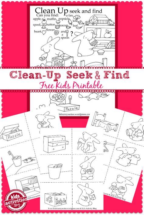 Free Printable Seek And Find