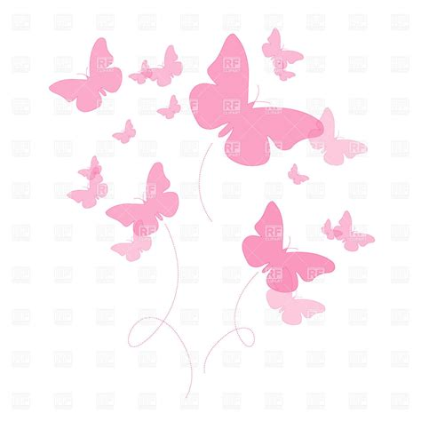 wallpaper butterfly pink vector silhouettes of pink butterfly royalty free vector clip art