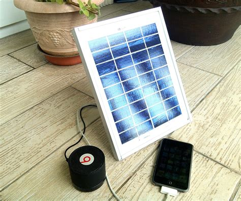 used portable 4 compartment diy portable usb solar charger 20 4 ports 5 steps