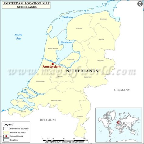 where is amsterdam on the map where is amsterdam location of amsterdam in netherlands map