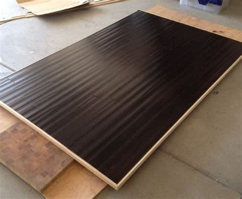 hardwood floor headboard how to make a floating headboard with led lighting