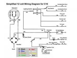 c15 simplified wiring diagram binatani