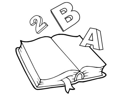 libro versos para dibujar dibujo de libro animado para colorear dibujos net