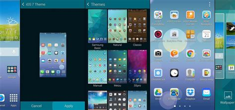 themes for android samsung galaxy wonder how to theme touchwiz on your samsung galaxy s5 drippler