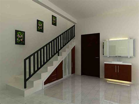 desain rumah loft 18 contoh model desain tangga rumah minimalis modern sederhana