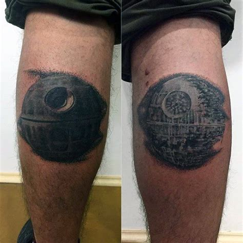death star tattoo 60 designs for wars ideas